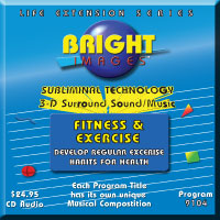 Bright Images Fitness & Exercise Subliminal Cd, tapes & mp3 Programs