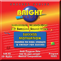 Bright Images Subliminal Audio cd, Tape & mp3 Programs for Self Help