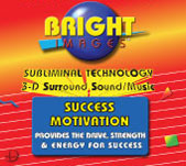 Bright Images SUccess Motivation Subliminal Audio mp3, tape and CD's Self Improvement Audio Programs