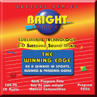 Bright Images Subliminal Self Improvement tapes, cd's & mp3 Audio Programs