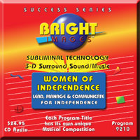Bright Images Subliminal Audio tape, cd and mp3 audio programs