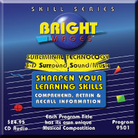 Bright Images Subliminal Sharpen Your Learning Skills Tape, CD & mp3 Audio Progams