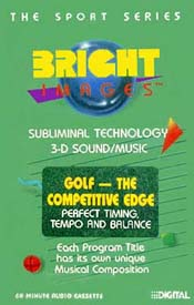 Golf - The Competitive Edge - Audio CD - 9601 - Product Image