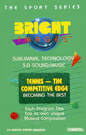 Tennis - The Competitive Edge - Audio Tape - 8602 - Product Image